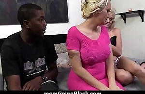 hot milf mom give excuses a blowjob added to ride a big black cock interracial 1