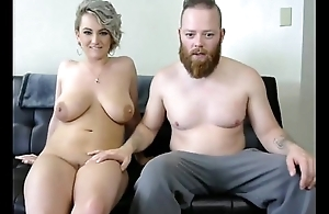 Gorgeous babe with huge tits fucked - HornySlutCams.com
