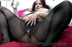 candees naughty nylon squirt show advance showing