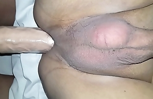 Being Pegged by a huge strapon