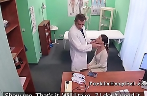 Hot Euro patient rimming added to fucking doctor