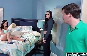(karlee&amp_keisha) Lesbo Teen Unshaded Get Punish With Dildos By Mean Lesbian clip-21
