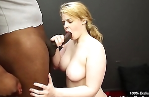 Big Blowbang Girl Danielle Gets Face Fucked by Black Cock