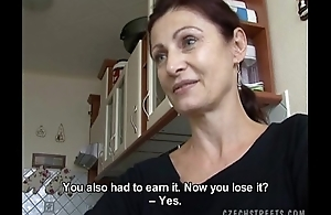 Czech MILF Gets paid for Public Carnal knowledge
