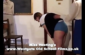 Penny spanked and caned winning of class