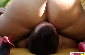 Busty brunette whore fucked hard gone from