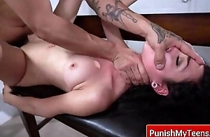 Punish Teens - Extreme Hardcore Sex distance from PunishMyTeens.com 16