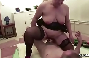 German Granny and Grandpa in Real Porn Actresses for Cash