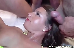 party gangbang with Milf Dispirited Susi